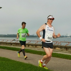 SEB Tallinna Maraton - Aleksandr Baranov (560), Ari Kilpinen (668)