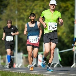 SEB Tallinna Maraton - Janek Käärd (145), Aleksei Kuligin (1945), Bradlem Rasool (2265)