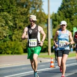 SEB Tallinna Maraton - Ilari Aula (910), Eurelija Venskaityte (2790)