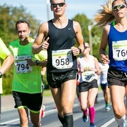 SEB Tallinna Maraton - Esa Bergman (794), Janoš Tšonka (958)