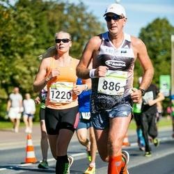 SEB Tallinna Maraton - Urmo Raiend (886), Anni Niidumaa (1220)