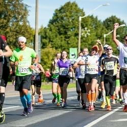 SEB Tallinna Maraton - Toomas Paas (795), Ronald Santos (1270), Merle Siimsen (1852), Liisa Kull (3651)