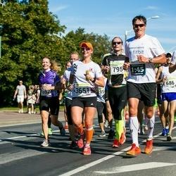 SEB Tallinna Maraton - Toomas Paas (795), Henri Kruusel (1783), Liisa Kull (3651)