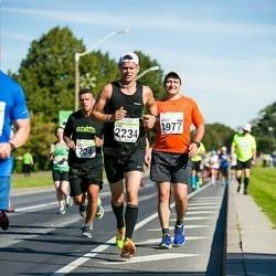 SEB Tallinna Maraton - Arnas Repecka (724), Nikolay Tereshchuk (1977), Kim Räty (2234)