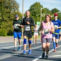 SEB Tallinna Maraton - Ando Põlluäär (1796), Reimo Kivi (2658)