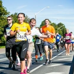 SEB Tallinna Maraton - Artjom Karja (1447), Helis Pajuste (1480), Sergey Arabkin (3542)
