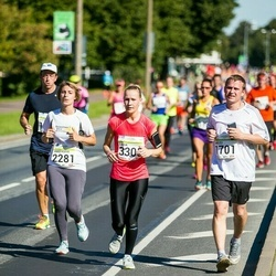 SEB Tallinna Maraton - Andzei Mänd (1701), Anastasiya Eroho Eroho (2281), Linda Rinne (3305)