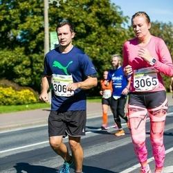 SEB Tallinna Maraton - Artur Müür (3064), Mari-Liis Sammul (3065)