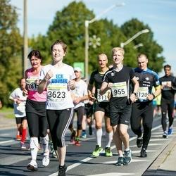 SEB Tallinna Maraton - Carl Mikael Hagelstam (955), Anastasia Buzuluckaia (3623)