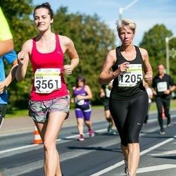 SEB Tallinna Maraton - Amanda Tully (1205), Ruta Lusite (3561)
