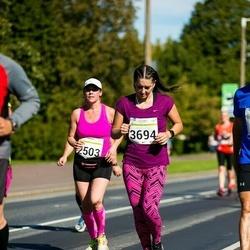 SEB Tallinna Maraton - Outi Kulmala (2503), Anastasia Jevdokimova (3694)