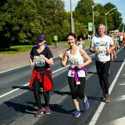 SEB Tallinna Maraton - Aleksandra Balod (1606), Anastasiia Almakaeva (2781)