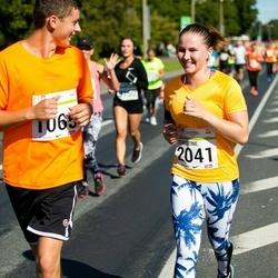SEB Tallinna Maraton - Janar Laaneste (1065), Christine Sallo (2041)
