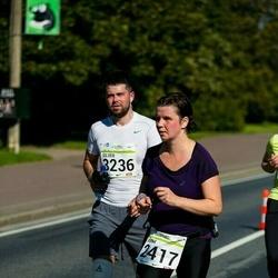 SEB Tallinna Maraton - Anna Doroshevskaya (2417), Silver Vainola (3236)
