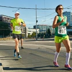 SEB Tallinna Maraton - Sofia Emelyanenko (857), Aleksei Kuligin (1945)