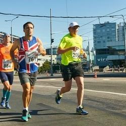 SEB Tallinna Maraton - James Loxton (761), Silvio Martini (884), Arttu Borchers (2067)