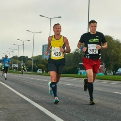 SEB Tallinna Maraton - Tarvi Tameri (302), Arnold Laasu (420)