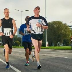 SEB Tallinna Maraton - Jouni Ruokolainen (697), Anders Norling (921)