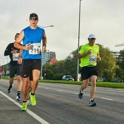 SEB Tallinna Maraton - Kaido Tambur (719), Arttu Borchers (2067)