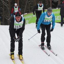 42. Tartu Maraton - Eero Sipilä (3595), Ahti Voosalu (5651)