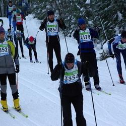 42. Tartu Maraton - Peeter Veske (2170), Aare Järvelaid (2852), Erik Rist (3354), Erik Saarts (5857)