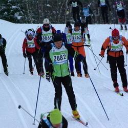 42. Tartu Maraton - Alexander Budanov (2010), Janno Toming (2862), Tõnn-Siim Peedosk (2882)