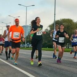 SEB Tallinna Maraton - Amira Mountassir (870), Petri Pohjola (1284)