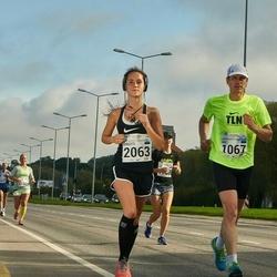 SEB Tallinna Maraton - Rain Raun (1067), Birgitti Pilvet (2063)
