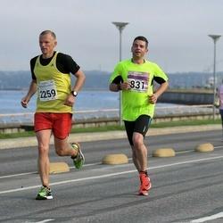 SEB Tallinna Maraton - Arles Taal (831), Kaupo Tiislär (2259)