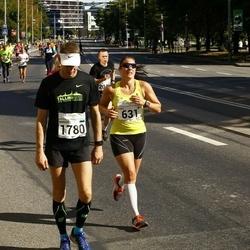 SEB Tallinna Maraton - Anna Hillgren (631), Margus Mäeots (1780)