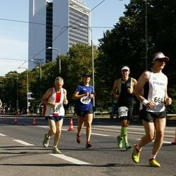 SEB Tallinna Maraton - Jarlath Fitzgerald (561), Ari Kilpinen (668)
