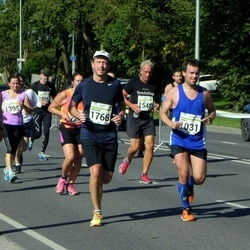 SEB Tallinna Maraton - Arko Kadajane (1031), Willem Buren (1548), Holger Mies (1766)