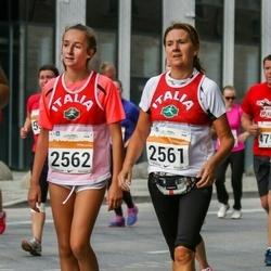 SEB Tallinna Maratoni Sügisjooks (10 km) - Daniela Flavia Ladina (2561), Anna Corru' (2562)