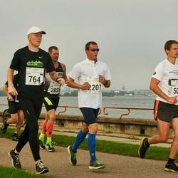 SEB Tallinna Maraton - Armin Soosalu (506), Ülar Aasa (764), Vladislav Veselitskii (1862), Rain Randlepp (2201)
