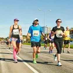 SEB Tallinna Maraton - René Velli (898), Anastasiia Kravtcova (1396), Kaiti Birk (1426)
