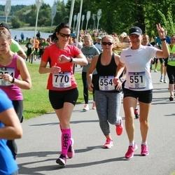 Jüri Jaansoni Kahe Silla jooks - Margrit Kärp (551), Anni Adamson (554), Reelika Kivi (770)