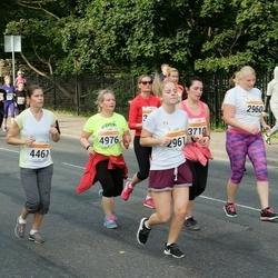 SEB Tallinna Maratoni Sügisjooks (10 km) - Elina Lillebach (2961), Triinu Englas (4461), Anneli Seppago (4976)
