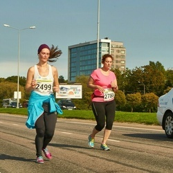 SEB Tallinna Maraton - Sirli Lehtsalu (2499), Anna Fedoryak (2780)
