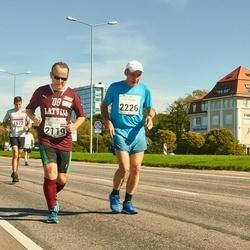 SEB Tallinna Maraton - Artis Drezins (2119), Dainis Kaulins (2226)