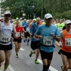 SEB Tallinna Maraton - Jüri Sakkeus (413), Ari Kilpinen (668), Ailar Limmer (796)