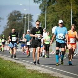 SEB Tallinna Maraton - Armin Allmäe (389), Ailar Limmer (796)