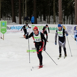 42. Tartu Maraton - Artur Maier (186), Heiki Prants (1440)