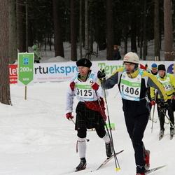 42. Tartu Maraton - Tambet Tõnissoo (1406), Agu Vilu (2125)
