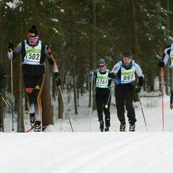 42. Tartu Maraton - Arno Õruste (763), Rasmus Mägi (897), Lars Schlegel (1502), Ain Mihkelson (1886)