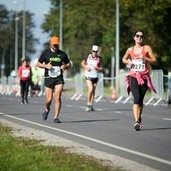 SEB Tallinna Maraton - Ivan Dimov (885), Anneliis Vallimäe (2271)