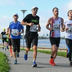 SEB Tallinna Maraton - Urmas Ärm (146), Bjorn Roar Vagle (1682), Risto Kankaanpää (1829), Janek Maripuu (2141)