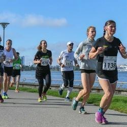 SEB Tallinna Maraton - Vello Luts (317), Amira Mountassir (870), Ulvi Lond (1138)