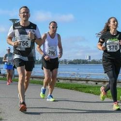 SEB Tallinna Maraton - Vello Luts (317), Leif Sköld (396), Toomas Vavilov (756), Amira Mountassir (870)