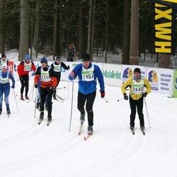 42. Tartu Maraton - Taivo Tolli (1984), Bert Lõuke (2228), Raido Kivinurm (2643)
