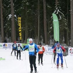 42. Tartu Maraton - Tiit Laaneots (1937), Urmas Kana (5221)